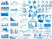 Jouet de démographie infographique — Vecteur