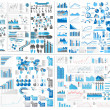 Royalty-Free Stock Vectorafbeeldingen: INFOGRAPHIC WEB ELEMENT MEGA COLLECTION EXTREME