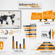 INFOGRAPHIC DEMOGRAPHIC ELEMENT WEB NEW STYLE — Stock Vector #25191137