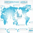 Stock Vector: INFOGRAPHIC WORLD MODERN EDITION 3
