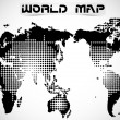 WORLD MAP AND EARTH GLOBES 2 — Stock vektor