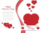 VALENTINE'S DAY BACKGROUND 2 — Stock Vector