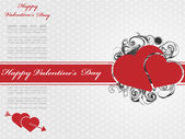 VALENTINE'S DAY BACKGROUND 5 — Stock Vector