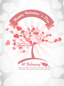 VALENTINE'S DAY BACKGROUND 8 — Stock Vector