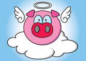 豚の角 — ストックベクタ