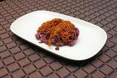 černá lepkavá rýže — Stock fotografie