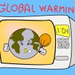Stock Vector: Global Warming