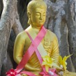 Golden Buddhstatue — Foto de stock #18327787
