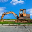 Heavy Duty Construction Equipment — Stock Photo