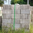 Concrete bricks — Stock Photo