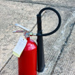 Image of extinguisher — Stock Photo