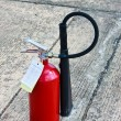 Image of extinguisher — 图库照片