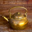 A brass Kettle — Stock Photo