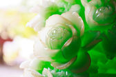 The carving flower — Stock Photo