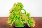 Flower made of Jade — Stock Photo
