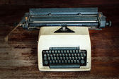 Old typewrite — Stock Photo