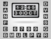 Clock2 — Stock Vector