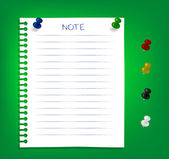 Reminder notes — Stock Vector