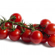 Stock Photo: Bunch of tomatoes
