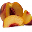 Sliced peach — Stock Photo