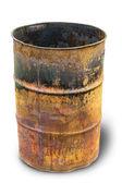 Rusty barrel — Stock Photo