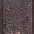 Stock Photo: Old painted wood texture