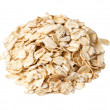 Oat flakes heap — Stock Photo