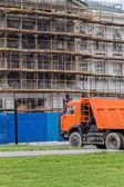 Construcción de un edificio — Foto de Stock