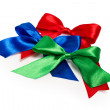 Stock Photo: Festive bows made ??of ribbon