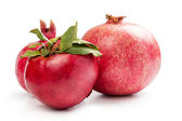Three pomegranates — Stock Photo