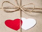 De dag van valentijnskaarten perceel — Stockfoto