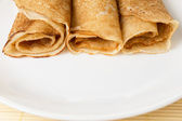 Russian crepes — Stock Photo