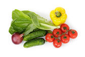 Vegetables for salad — Stock Photo