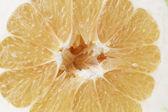Half of sweetie citrus — Stock Photo