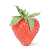 Fresh ripe whole strawberry — Foto de Stock