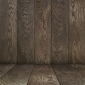 Template from old oak floor and wall — Stock fotografie