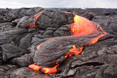 Lava flow in Hawaii — Stock Photo