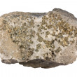 Quartz vein with pyrite — Stock Photo