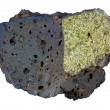 Mantle xenolith in basalt — Stock Photo