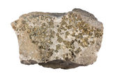 Veine de quartz avec pyrite — Photo