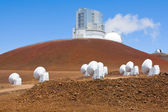 Telescopes on Mauna Kea — Stock Photo