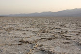 Badwater basin (lowest point on western hemisphere) — Stok fotoğraf