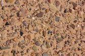Alluvium in desert — Stock Photo