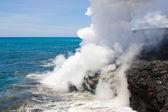 Lava haze in Hawaii — Stock Photo