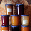 pots de confiture — Photo