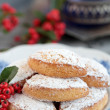 Ricciarelli di Siena pastries Christmas — Stock Photo