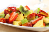 Fresh fruit salad — Foto de Stock
