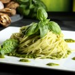 Pastspaghetti with pesto — Stock Photo #32701123