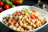 Chickpeas salad — Stock Photo