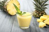 Pineapple smoothie — Stock Photo